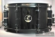 Sonor Black Mamba Maple Snare Drum 13x7 Black Gloss - SSE101307SDWB3PB