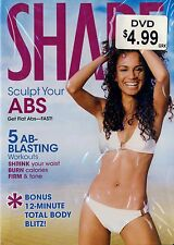 BRAND NEW DVD // FITNESS // Shape: Sculpt Your Abs // Tracy Tork