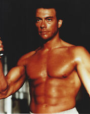 JEAN-CLAUDE VAN DAMME 8 X 10 PHOTO WITH ULTRA PRO TOPLOADER