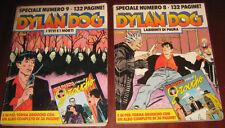 """Lotto/Stock/Giornalino/Fumetti """" DYLAN DOG """" Anni ' 90/SPECIALE/Pz.2/ N° 8-9"""
