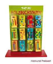 """Holz Buchstaben Kinderzimmer A-Z """"TATIRI"""" Namen Türschild Holzbuchstaben Kinder"""