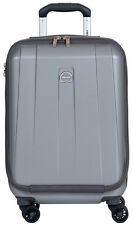 "Delsey Helium Shadow 3.0 19"" International Carry-On Spinner Luggage - Platinum"