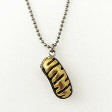 Mitochondrion Necklace - mitochondria, microbiology pendant, biology jewelry