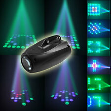 64LED RGBW LED Stage Light Crystal Xmas Club DJ Party Disco Laser Lights Lamp