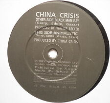 "CHINA CRISIS - Black Man Ray - Excellent Condition 7"" Single Virgin VS 752"