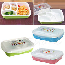 Lovely Microwave Oven Bento Lunch Box Food Container Storage With Spoon