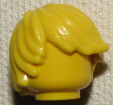 LEGO NEW BLONDE YELLOW TOUSLED SIDE SWEPT HAIR MINIFIGURE WIG MALE FIG PIECE