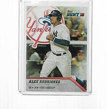 2016 TOPPS BUNT 16 (GREATEST PLAYER OF ALL TIME) ALEX RODRIGUEZ #112