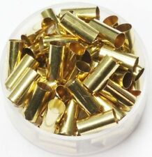 Raw Brass  ( 4 MM Hole  X  10 MM Length ) Tube Spacer Beads  Pkg Of 100