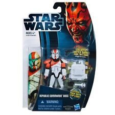 Star Wars The Clone Wars Republic Commando Boss Figura De Acción Cw11 2012