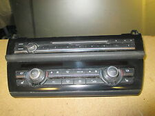 BMW 5 SERIES F10 RADIO/CLIMATE CONTROL PANEL  (WITH HEATED SEATS) 9241241