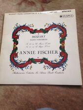 Annie Fischer. Mozart. Concertos 20&23. Columbia Sax 2335. Ex Vinyl