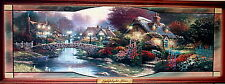 Thomas Kinkade 'Lamplight Lane' Lighted Picture - Bradford Exchange