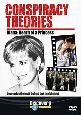 Conspiracy Theories Diana Death Of A Princess DVD New Sealed UK Release R2