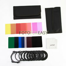 11pcs ND2 ND4 ND8 Square Color Filter Kit + 9pcs Ring Adapter for Cokin P Series
