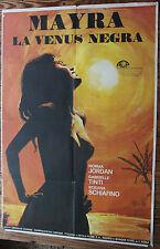 Used - Cartel de Cine  MAYRA LA VENUS NEGRA  Vintage  Movie Film Poster - Usado