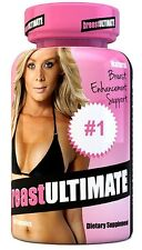 breastULTIMATE Breast Enlargement Butt Enhancement All Natural Formula 60 Pills