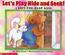 Let's Play Hide and Seek!: A Lift-The-Flap Book-ExLibrary