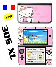 SKIN STICKER AUTOCOLLANT DECO POUR NINTENDO 3DS XL - 3DSXL REF 66 KITTY
