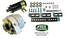 Tractor 12 Volt Alternator Conversion Kit Universal John Deere Case Ford IH, MF
