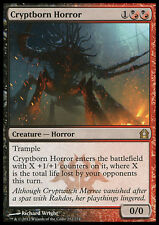 MTG CRYPTBORN HORROR FOIL ORRORE CRIPTONEONATO GAME DAY FULL ART
