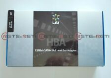 € 199+IVA LSI SAS 9300-4i 12Gb/s Host Bus Adapter SATA/SAS 4-Port Internal NEW