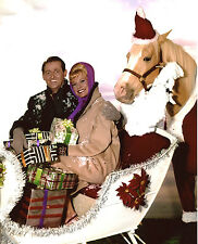 Mr Ed Christmas Connie Hines Alan Young 8x10 photo T0733
