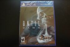 NEW! Until Dawn (Sony PlayStation 4, 2015) PS4