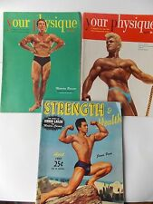 1951 Men's Fitness Magazines-  Your Physique & Strength & Health