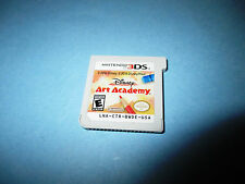 Disney Art Academy (Nintendo 3DS) XL 2DS Game