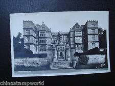 old GB postcard,Fountains hall,E96,real photo