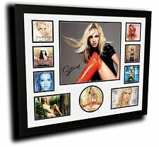 BRITNEY SPEARS SIGNED LIMITED EDITION FRAMED MEMORABILIA