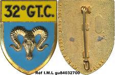 32° Groupement de Camp, sigle GT.C. bélier, Delsart 2092 (7019)