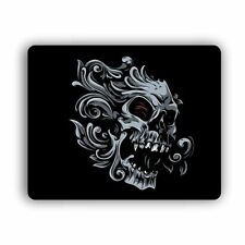 Wave Skull Computer Gaming Mouse Mat Pad Desktop Laptop Mouse