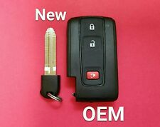 New OEM Toyota Prius Key without Smart Entry Black Logo MOZB21TG