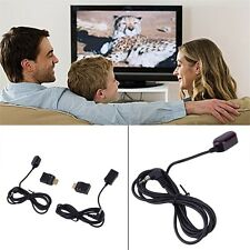 IR Extender Over HDMI Remote Control Adapters Receiver Transmitter Cable Kit JVK