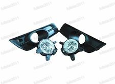Clear Fog Lights Driving Bumper Lamps+Bezels Kits For Chevrolet Cruze 2009-2014