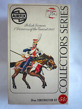 VINTAGE AIRFIX COLLECTORS SERIES / POLISH LANCER 1815 / 02553-5 / 54MM SET