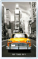 NEW YORK TAXI Nº1 FRIDGE MAGNET IMAN NEVERA