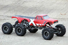 XTC RC 6WD 3 ACHSER ALUMINIUM MONSTER CRAWLER TRUCK AMEWI 1:8 RTR 2,4 GHz