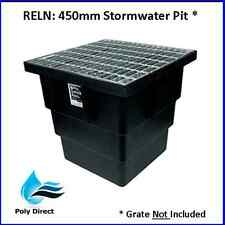RELN Commercial PLASTIC STORMWATER PIT 450mm x 450mm Only (No Grate)
