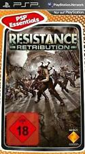 Playstation sony psp resistance: retribution NEUF