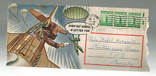 1943 USA Patriotic Cover US Airman High Ho Here's a Letter for ENvelope Macon GA