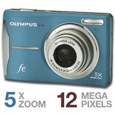 OLYMPUS FE-46 12 megapixel Blue Digital Camera 5x Optical Zoom