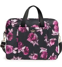 "KATE SPADE 15"" LAPTOP BAG IN FLORAL, NEW WITH TAG, FREE SHIP"