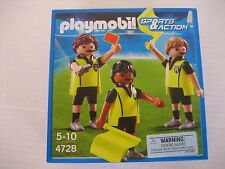 Playmobil Sports & Action 4728 3 Soccer/Football Referee New Box 4008789047281