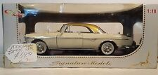 1955 CHRYSLER IMPERIAL 1:18 DIECAST 2003 SIGNATURE MODELS Gold top CAR MODEL car