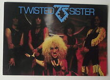 Carte postale Twisted Sister   postcard