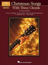 Christmas Songs with Three Chords Sheet Music Strum It Guitar NEW 000699487
