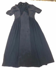 BNWT & OTHER STORIES EUR 34 BLUE SILK PLEATED MIDI A LINE DRESS